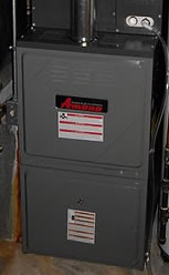start up gas furnace inspection