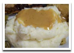 ... than some homemade turkey gravy mashed potatoes with gravy